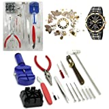 Generic 16pcs Deluxe watch opener tool kit repair pin Remover 6955170801480 Bild