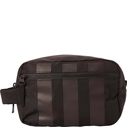 adidas Team Toiletry Kit Bag, Black, One Size For Sale