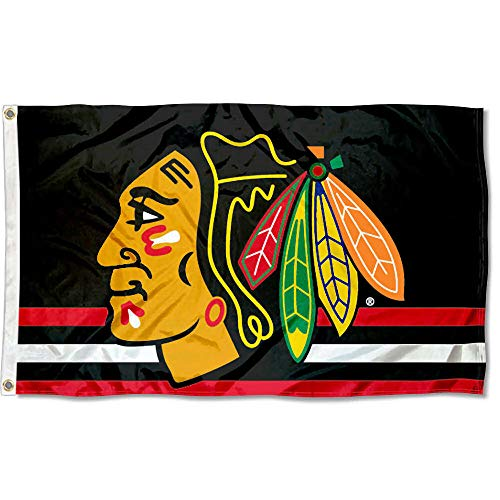(Wincraft Chicago Blackhawks Flag 3x5 Banner )