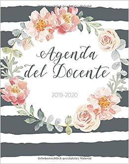 Calendario Luglio Agosto 2020.Amazon It Agenda Del Docente 2019 2020 Agenda Settimanale