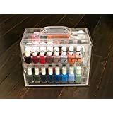 Nail Polish Organizer by Nail Pail (carries 32 polishes & accessories) We are BACK!!!