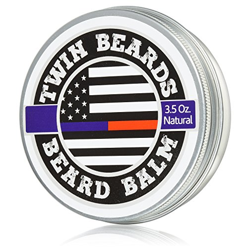 Twin Beards All Natural Beard Balm 3.5 oz