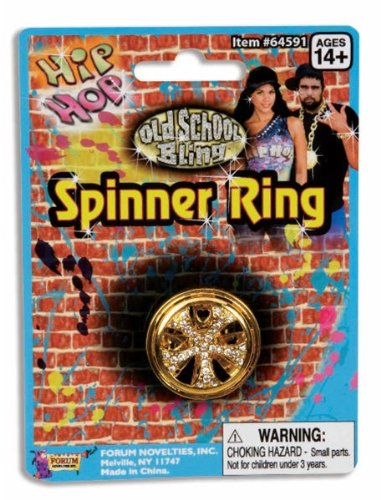 Hip Hop Spinner Ring by Spook Shop
