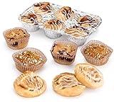 SARA LEE Continental Variety Pack#1 (24-Blueberry Muffins, 24-Banana Nut Muffins, 24-Mini Cinnamon Rolls, 10-Apple Demi-Danish) 96-Count