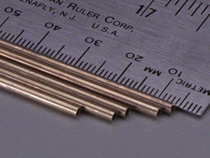K /& S PRECISION METALS 8128 5//32 x 12 Round Brass Tube