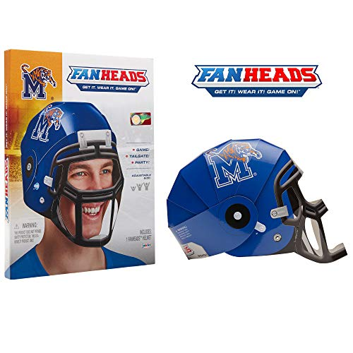 Fan Heads 69583-PDQ Memphis Tigers Helmet ()