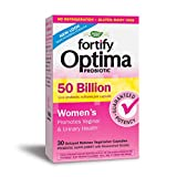 Nature's Way Fortify Optima Women's 50 Billion Probiotic, Acidophilus, 30 Count (New Look, Packaging May Vary)