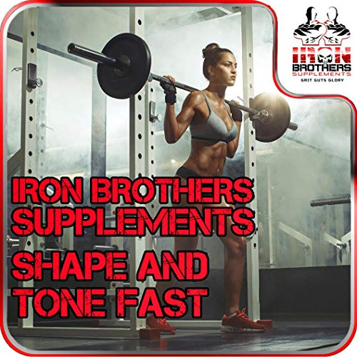 Thermogenic Fat Burners for Men/Women - Hardcore Weight Loss Pills - Appetite Suppressant- Premium Metabolism/Energy Booster – 60 Gel Capsules - Keto Friendly - Iron Brothers Thermo Burn by Iron Brothers Supplements (Image #3)