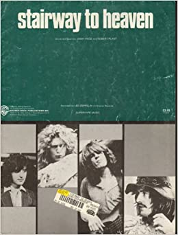 stairway to heaven by led zeppelin sheet music 1972