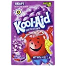 Kool-Aid Flavored Drink Mix, Unsweetened Grape, 0.14 Ounce Packets (Pack of 96)