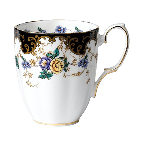 Royal Albert 100 Years 1910 Mug, 14.1 oz, Multicolor (Mug China Bone Royal Albert)