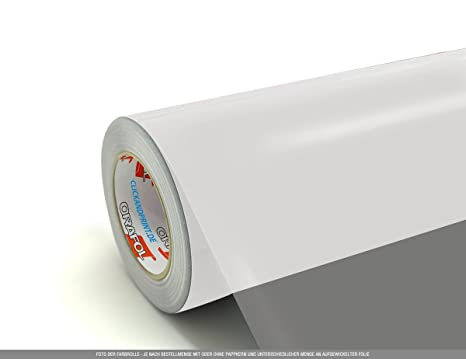 Selbstklebefolie zitronengelb matt 61,5 cm 10 m 4,00 € //m Klebefolie