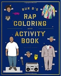 Bun Bs Rapper Coloring And Activity Book