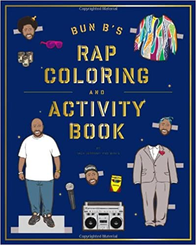 {* ONLINE *} Bun B's Rapper Coloring And Activity Book. pastor Service Tuesday Leggings network