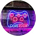 AdvpPro 2C Game Room Console TV Man Cave Kid Room Dual Color LED Neon Sign st6-j2984