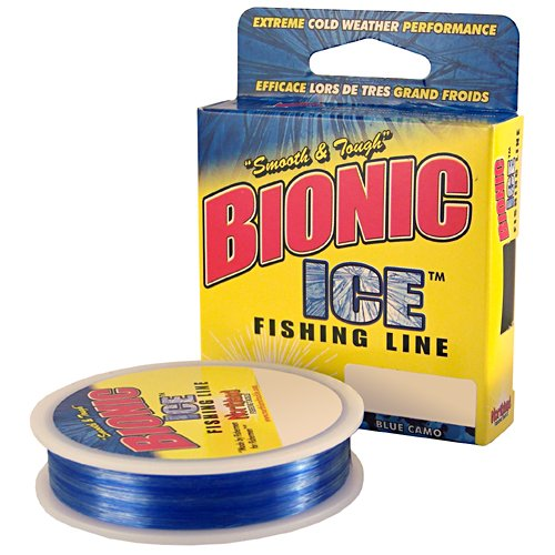 Northland BI125-3-BC 125-Yard Bionic Ice Line, 3-Pound, Blue Camo