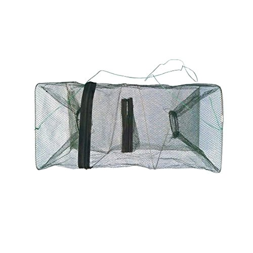 MMRM Folding Fishing Bait Trap Net Cage for Crab Fish Lobster