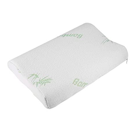 Almohada de bambú Ajustable para niños Cojín de Espuma de ...
