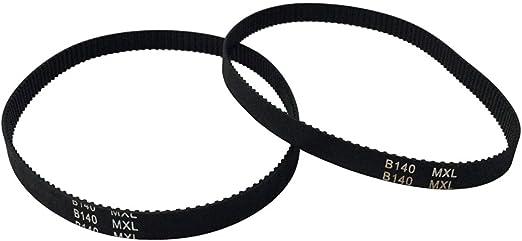 BEMONOC B92MXL//73MXL Rubber Timing Belt L=186.94mm W=6mm 92 Teeth in Closed Loop of Motor Belt Pack of 10pcs