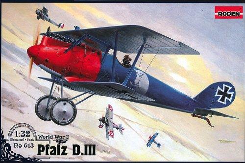 Roden 613 Modellbausatz Pfalz D. III