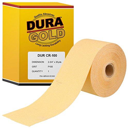 Auto Body Premium Gold 6 PSA Sticky Back Sanding Discs Roll 120 Grit