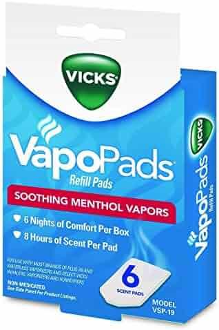 Vicks VSP-19 VapoPads Refill Pads, 6 count