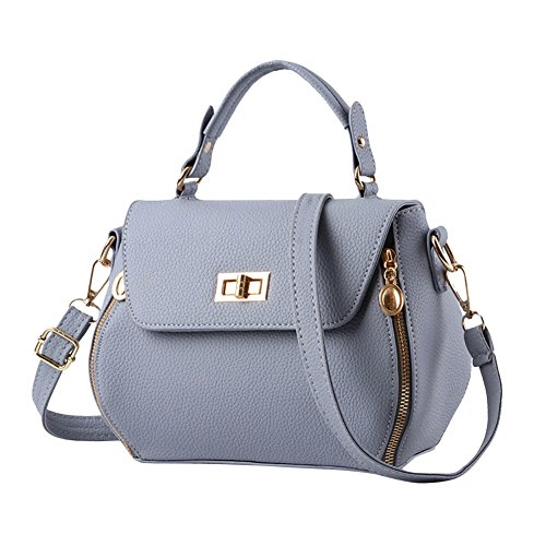 Pure Color Bag Rucio White Tote Crossbody Style Simple Retro Woman PCg1q6g