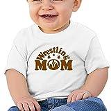 Cute Short-Sleeves Tee Wrestling Mom 1 6-24 Months Baby Boy Toddler