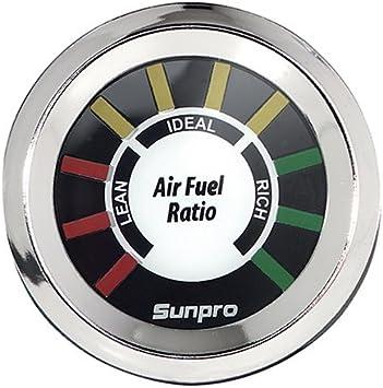 NOS SUNPRO CP8200 STYLE LINE ELECTRIC AIR//FUEL RATIO GAUGE