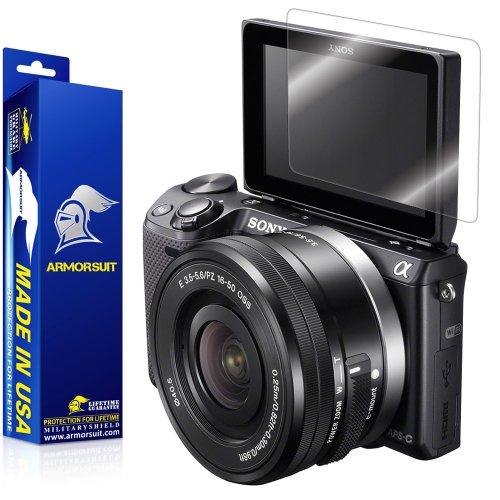 ArmorSuit Sony NEX-5T/5TL/5R Camera Screen Protector Full Coverage MilitaryShield Screen Protector For Sony NEX-5T/5TL/5R - HD Clear Anti-Bubble Film