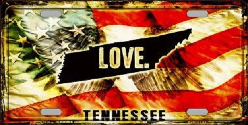 tennessee-love-novelty-metal-license-plate