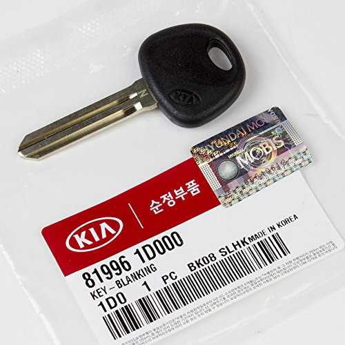 2007 2008 2009 2010 Kia Rondo Key Blank Genuine OEM BRAND NEW 81996-1D000 (Blank Key One)