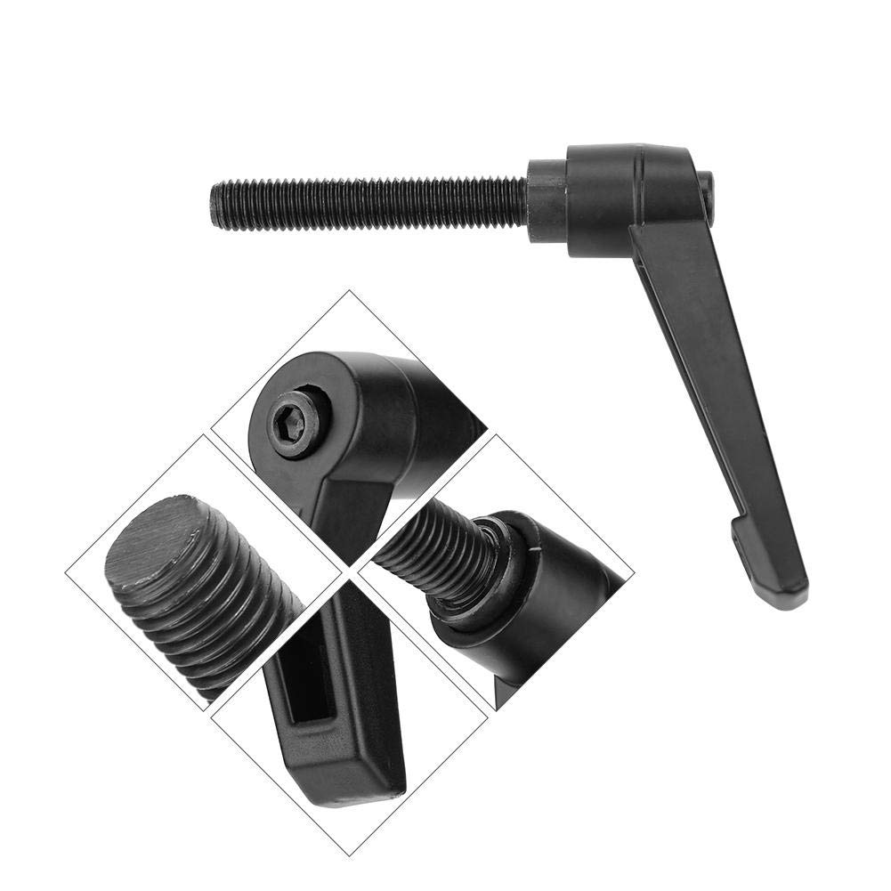 2pcs Male Thread M12 Adjustable Handle Clamping Lever Male Thread 50mm
