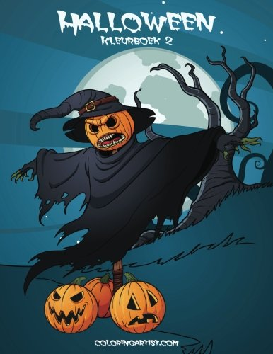 Halloween Kleurboek 2 (Volume 2) (Dutch Edition)