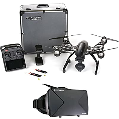 Yuneec Typhoon Q500 4K Quadcopter Drone UHD FPV Virtual Reality Experience from Yuneec