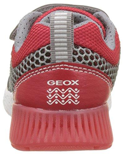 Sneaker Bambino red grey Geox Basse Sveth Grigio J B 8qwqv4xXt