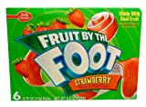 Fruit by the Foot Strawberry Snacks 4.5 oz (Pack of 12)