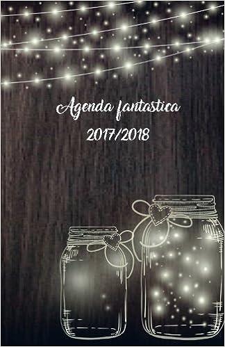 Agenda fantástica 2017/2018: interior blanco y negro ...