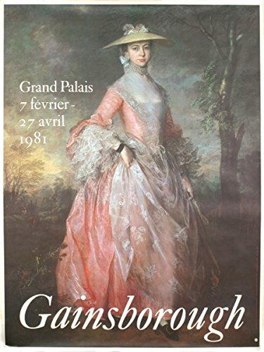 1981 Thomas Gainsborough Grand Palais Poster