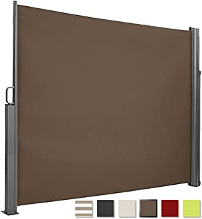 paramondo Pared Lateral para Deluxe Gazebo Pabellón de jardín Cenador, Antracita - Solapa Color Burdeos, Pack de 4: Amazon.es: Jardín