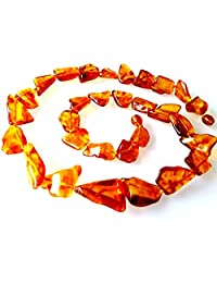 Natural Baltic Amber Necklace/Women / Healing Amber Necklace/Certified Genuine Baltic Amber