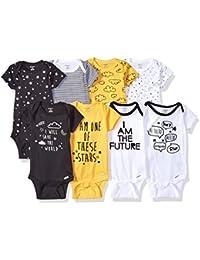 Baby Boys' 8-Pack Short-Sleeve Onesies Bodysuit