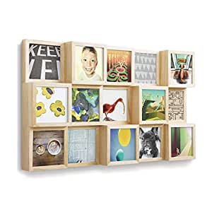 Amazon Com Umbra Blox 15 Opening Collage Picture Frame