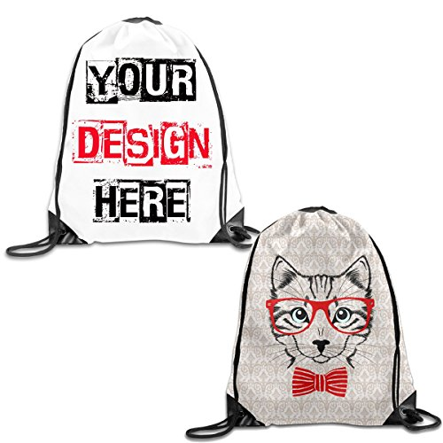 [Design Your Own Sackpack Tote Cinch Gym Bag For Teen Girls Boys,DIY Beach Sackpack Backpacks For School Rucksack] (Adult Clifford Costumes)