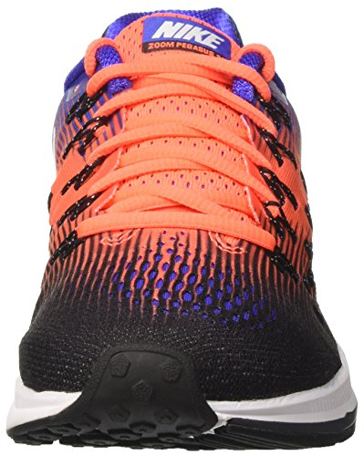 Nike Hommes Air Zoom Pegasus 33 Noir / Blanc / Hyper Orange