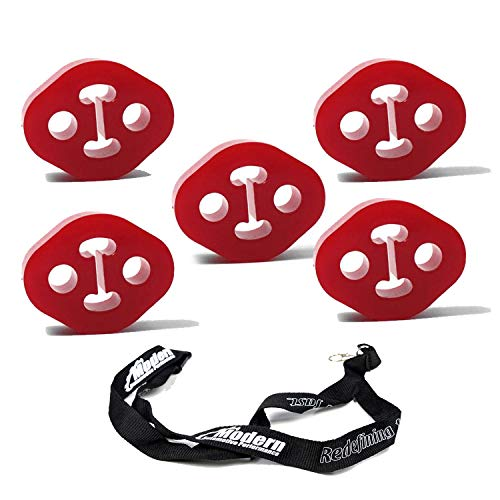 Perrin Polyurethane Exhaust Hangers Set of 5 for 2008+ Subaru WRX/STI/BRZ/Scion FR-S/Toyota 86
