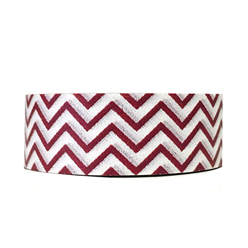 Wrapables Colorful Patterns Masking Burgundy