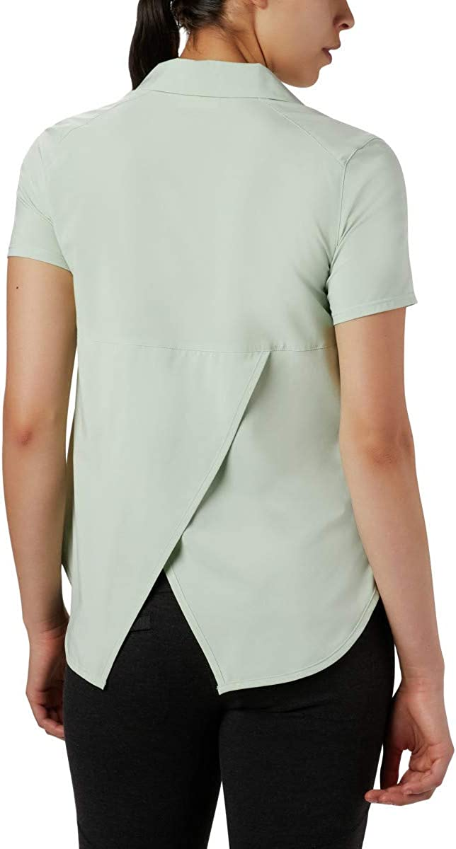 Columbia Womens Place to Place SS Sun Shirt