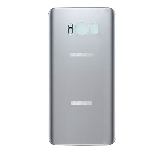 sports shoes 8608a dbc1c Samsung Galaxy S8+ Plus G955 Back Glass Battery Cover Rear Door Replacement  USA (Silver)