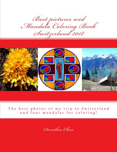 Best pictures and Mandala Coloring Book Switzerland 2018: The best pho... - 511Z9gO4JcL